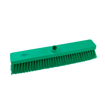 Hillbrush bezem medium hard groen 45cm