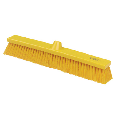 Hillbrush bezem medium geel 50cm