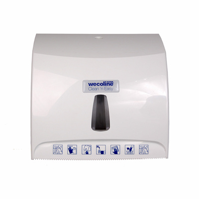 Clean 'n Easy wanddispenser microvezelrol wit