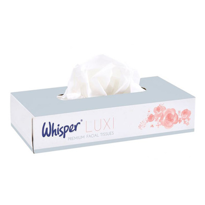 Whisper Facial tissue 2-lgs