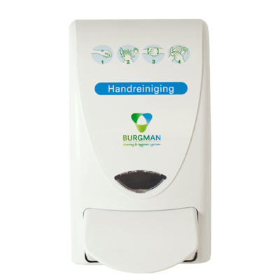 Burgman handreiniging dispenser 1L