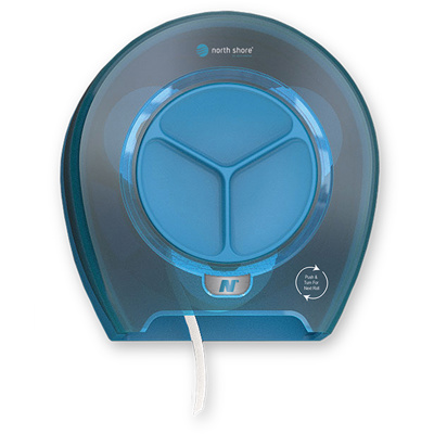 Orbit Ocean Blue toiletdispenser