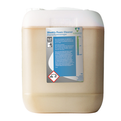 Burgman Weekly foam cleaner 10kg