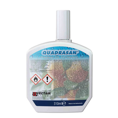 Vectair sanitizer quadrasan ESP mandarin 0,31L